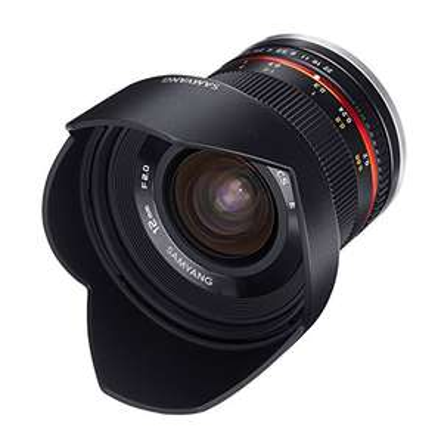 Samyang 12mm, f2.0 für Sony E-Mount, APS-C [Amazon.fr]