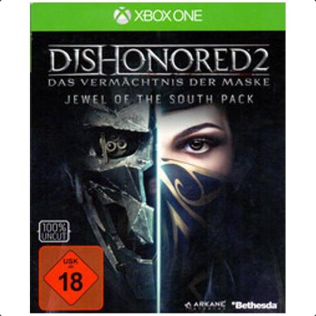 Dishonored 2: Das Vermächtnis der Maske (Xbox One) (Exlusives Metal Plate Pack) für 7,69€ (Groovesland)