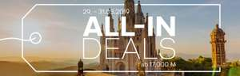Lufthansa Miles & More: ab 17.000 Meilen (inkl. Steuern) Hin- und Rückflüge nach Europa