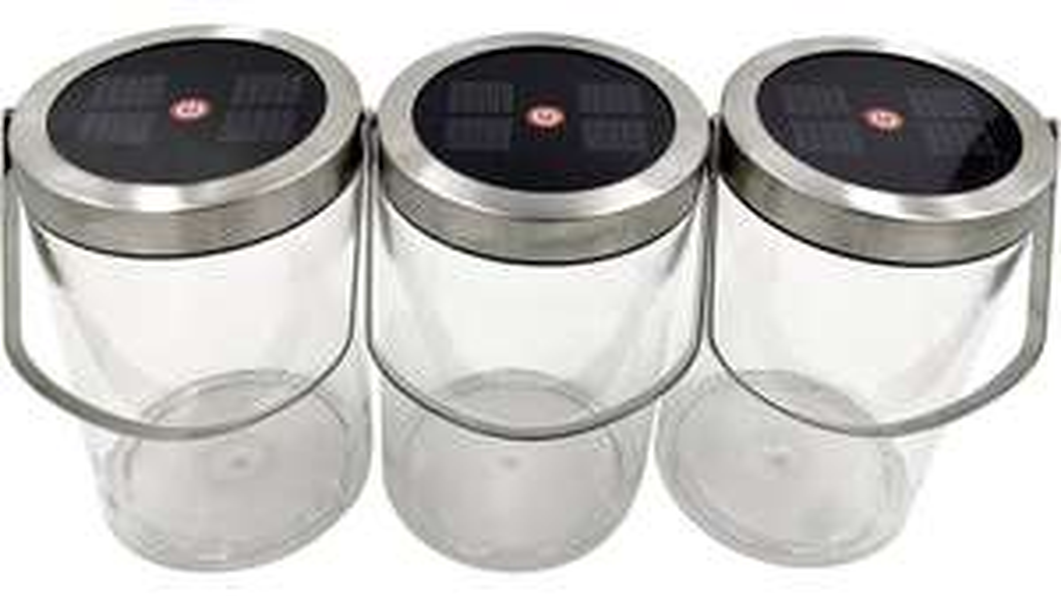 Bosch Home and Garden Solar-Tischlampe 3er Pack für 9,99€ inkl. Versand (Voelkner)