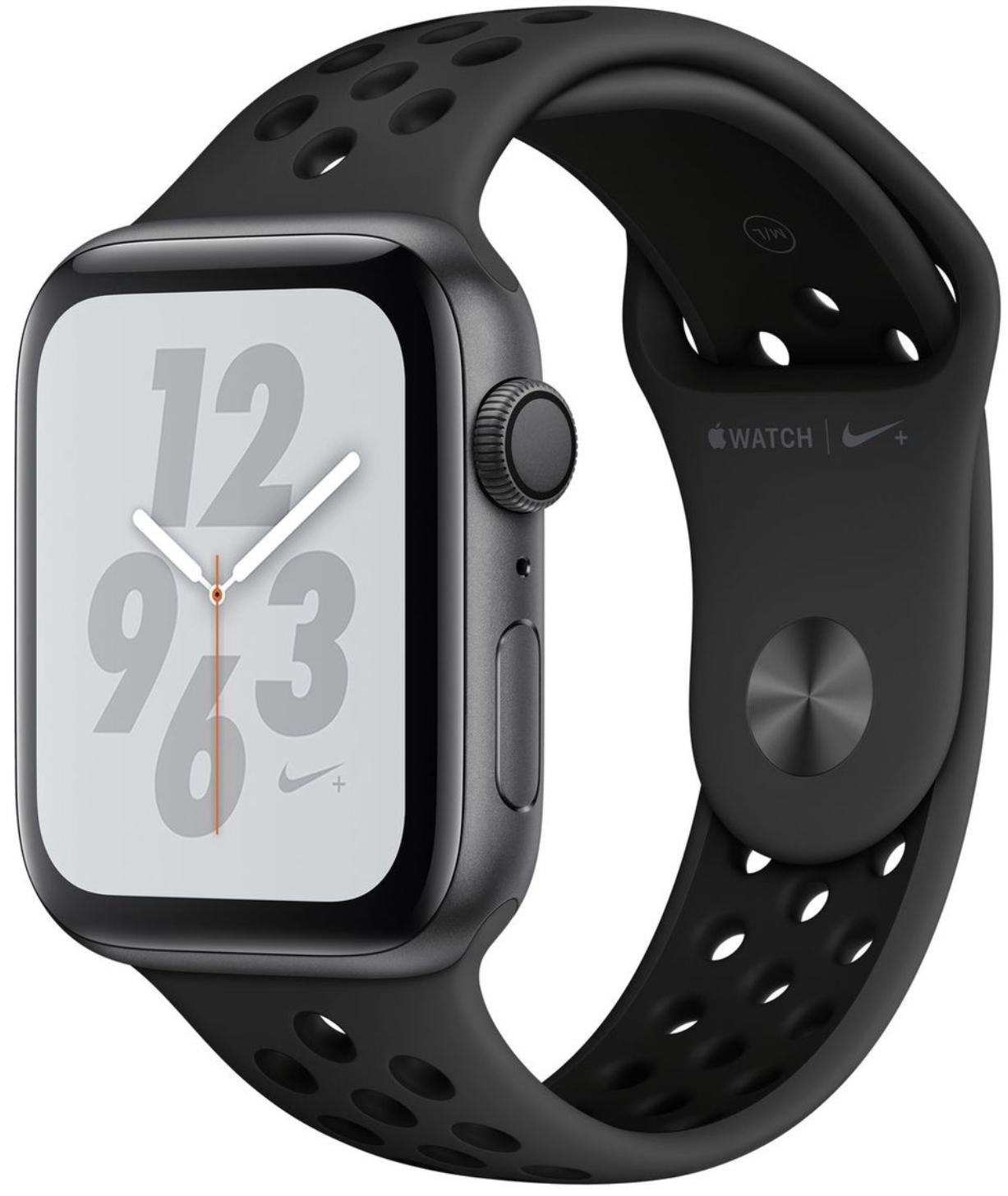 Apple Watch Series 4 Nike+ GPS 44 mm Alu Sportarmband für 404€ inkl. Versandkosten [Gravis ebay]
