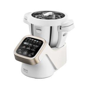 Krups HP5031 Prep & Cook 1550W 4.5l Silber Weiß Küchenmaschine