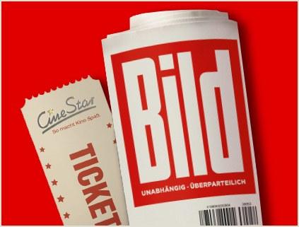 CineStar: Jetzt eine Kinokarte bezahlen + eine Kinokarte mit Bild kostenlos dazu erhalten