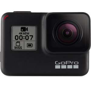 GoPro Hero 7 Black inkl. Dualladegerät und Akku