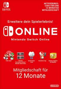 12 Monate Nintendo Switch Online kostenlos! (Twitch Prime)