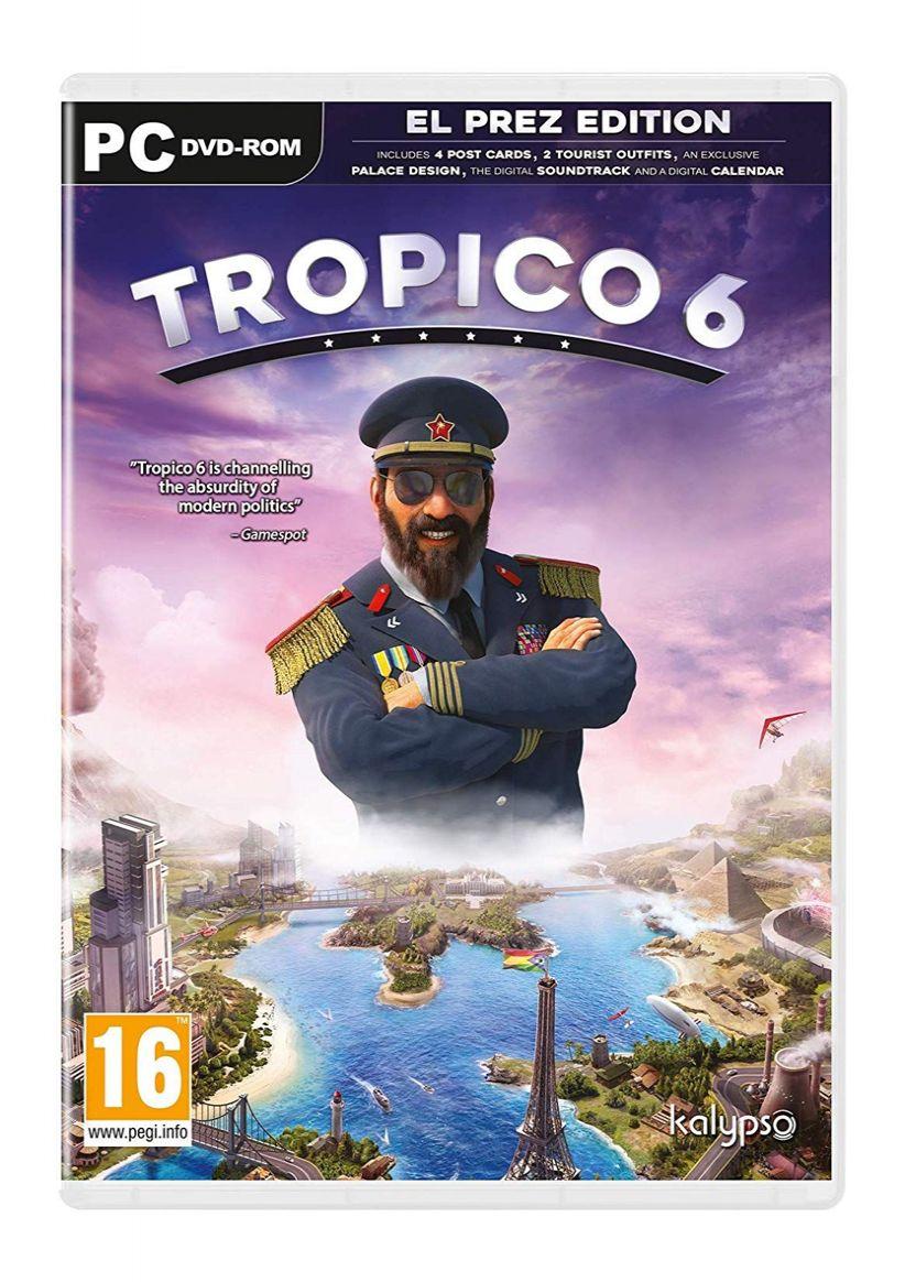 Tropico 6 El Prez Edition (PC) für 3,90€ (SimplyGames)