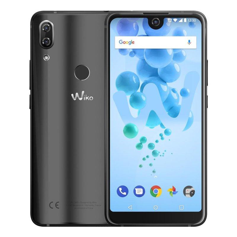 [X-Kom] Wiko View 2 Pro Smartphone (15,2 cm (6 Zoll) IPS Display, 64GB interner Speicher, Android 8, 4GB RAM) anthrazit