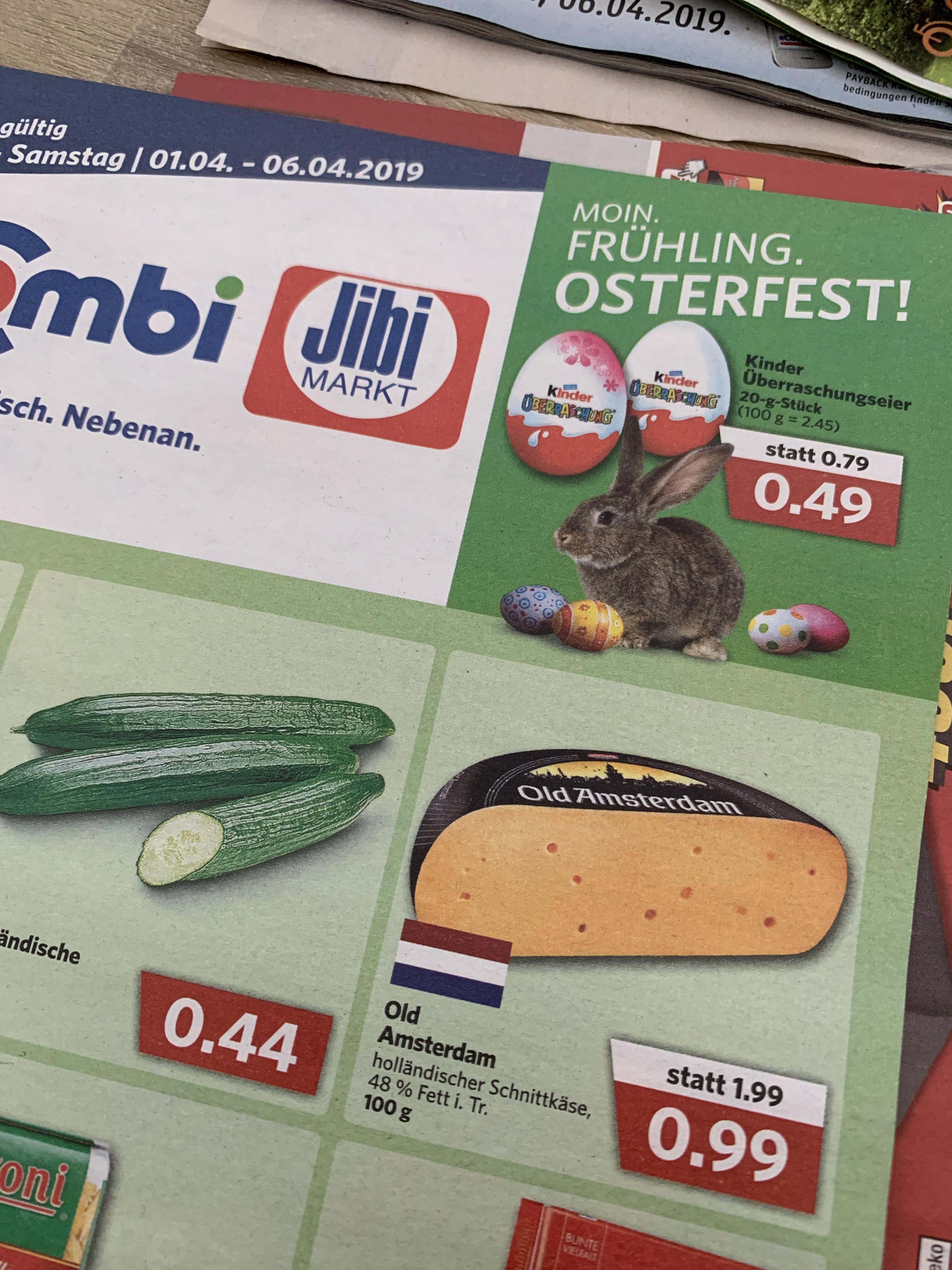 Old Amsterdam Käse bei Combi und Jibi