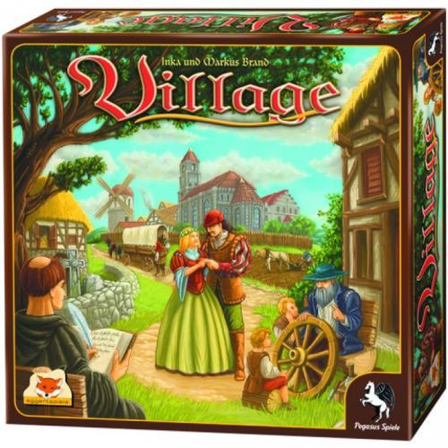 Kennerspiel des Jahres 2012 (Village) + 1 Malbuch für 20,49 Euro (durch 10 Euro Gutschein)