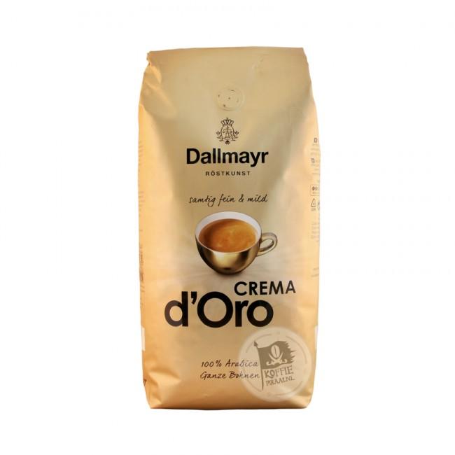 Dallmayr Crema d'Oro (1kg), verschiedene Sorten für 8,77 Euro [Netto MD-(6.04].)