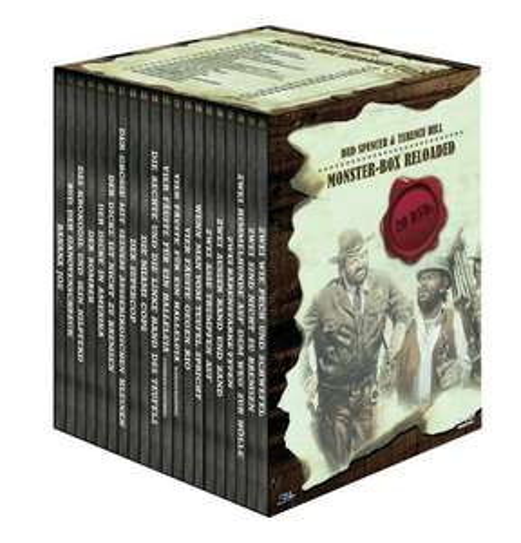 [DVD] Bud Spencer & Terence Hill Monster-Box Reloaded (20 DVDs) 42,83 € @Voelkner