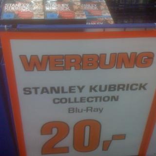 [lokal] Blu-ray: Stanley Kubrick Collection für 20€ bei Saturn Berlin Alexanderplatz