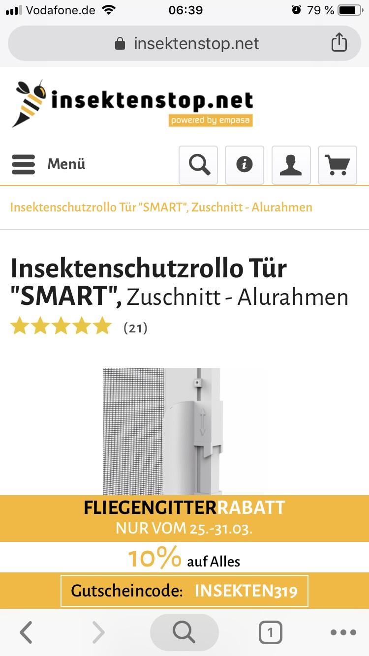 insektenstop.net 10% Gutschein