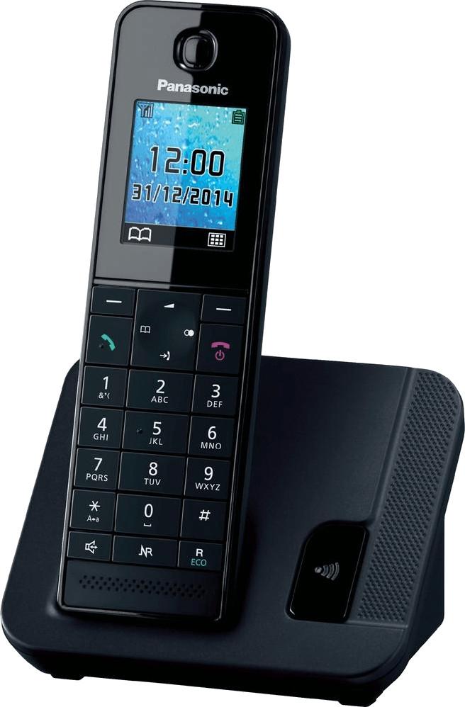"""DECT-Telefon Panasonic KX-TGH210 Single (1.8"""" Farbdisplay, 200 Einträge Telefonbuch, 250h Standby, 14h Gesprächszeit, 110g)"""
