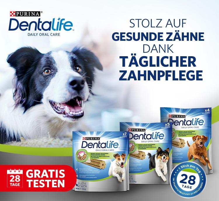 [GzG] Purina Dentalife Snacks gratis testen max. 9€