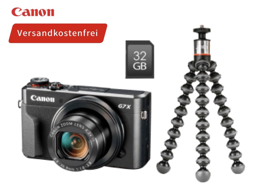 CANON PowerShot G7 X Mark II Vlogger Kit