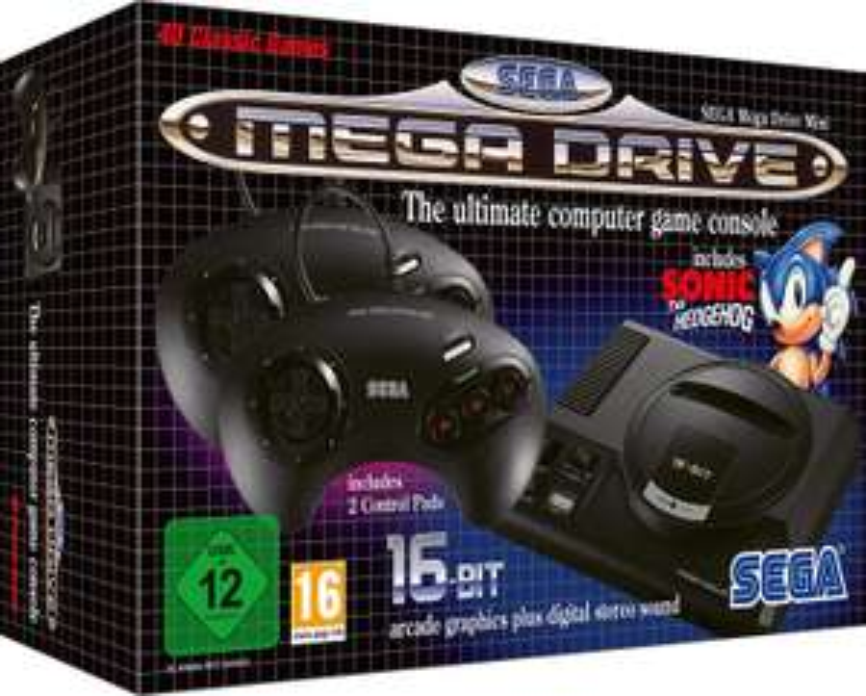 [Vorbestellen] SEGA Mega Drive Mini (40 Spiele + 2 Controller)