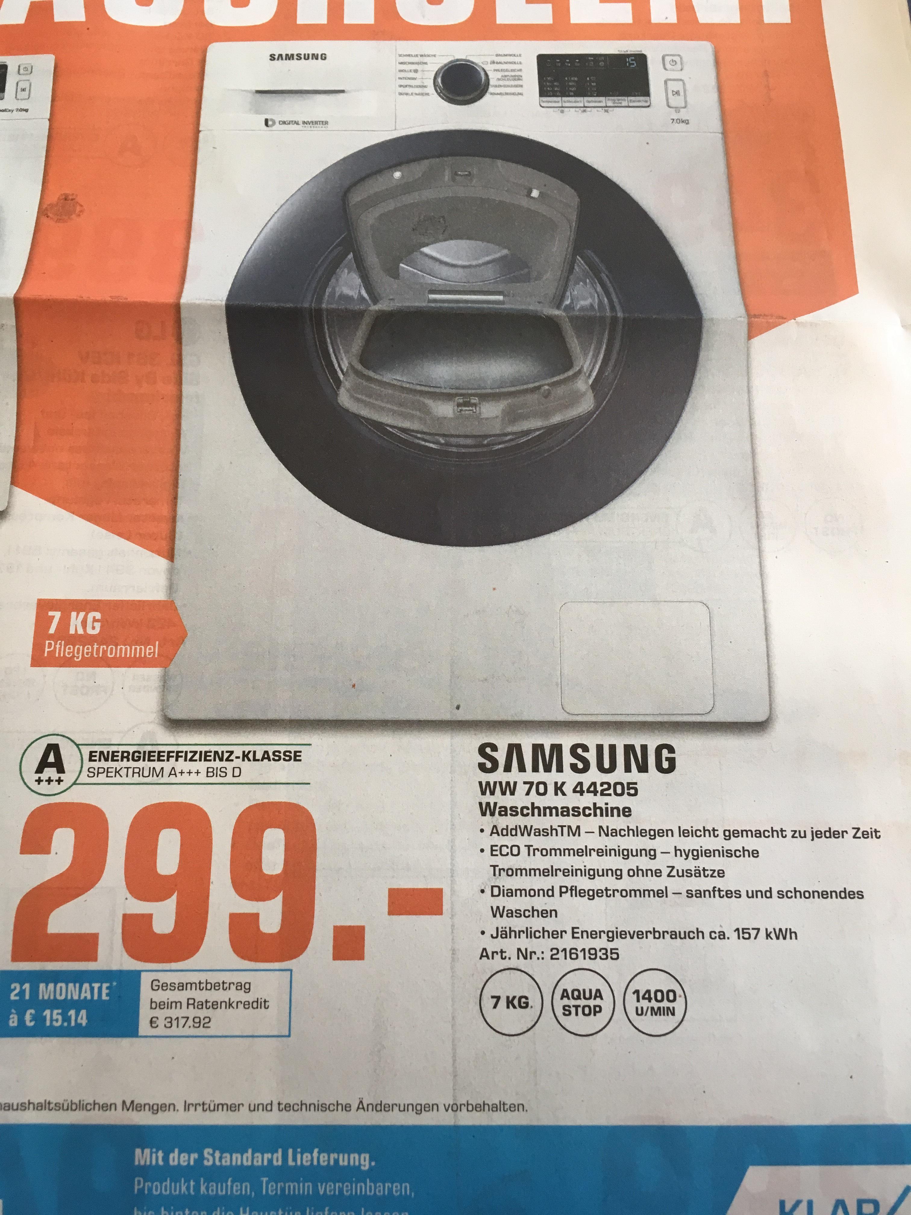 [Lokal] Celle Saturn Samsung Waschmaschine