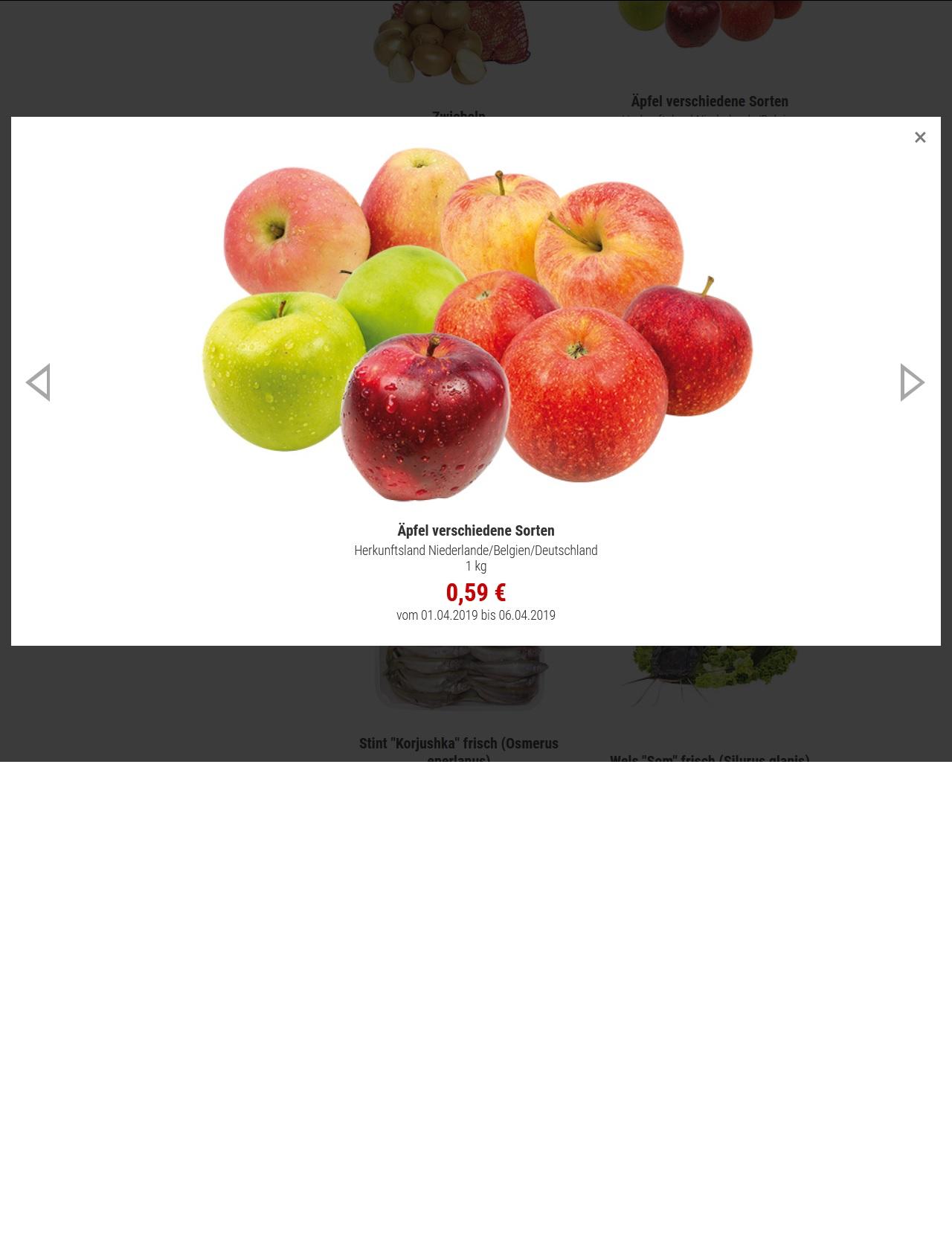 Äpfel für nur 59 Cent je kg bei Mix-Markt bundesweit