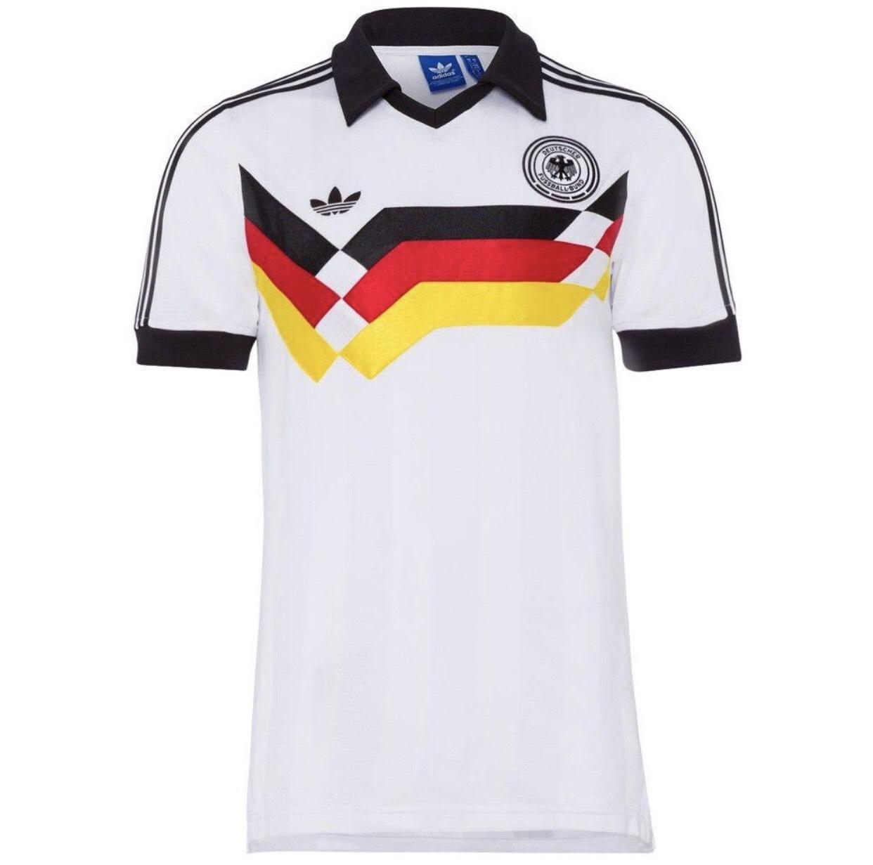 adidas Deutschland DFB Retro Trikot in Anlehnung an WM 1990