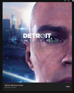 Detroit Become Human umsonst im Epic Games Store