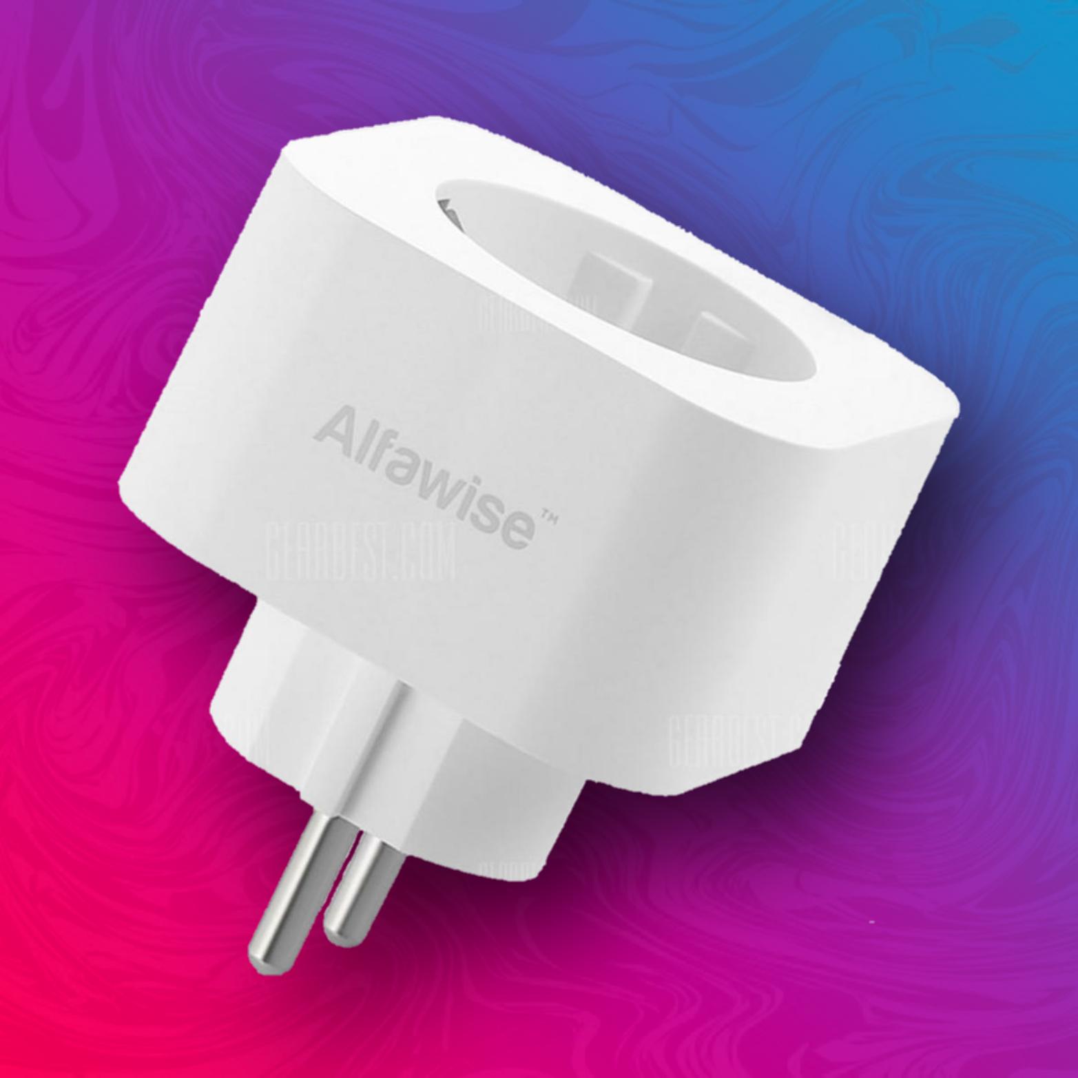 Alfawise PE1004T - EU Steckdose - Alexa // Google Home // Tuya Smart - Timer
