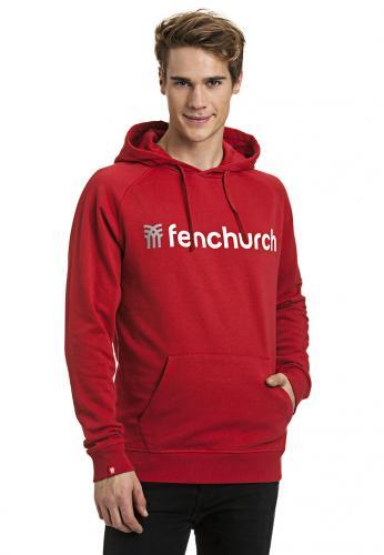 FENCHURCH Hoody [ROT oder OLIV + Neukunden-Gutschein] @B4F (UVP: 69,95€)