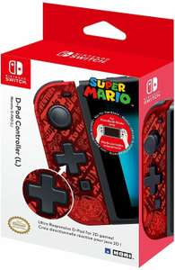Hori Nintendo Switch D-Pad Controller Mario Links für 14,49€ (GameStop)