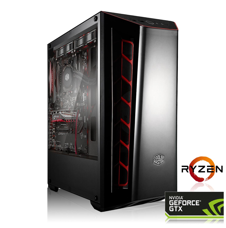 GAMING PC AMD Ryzen 5 2600 6x3.40GHz | 16GB DDR4 | GTX 1660 6GB | 240GB SSD HDD