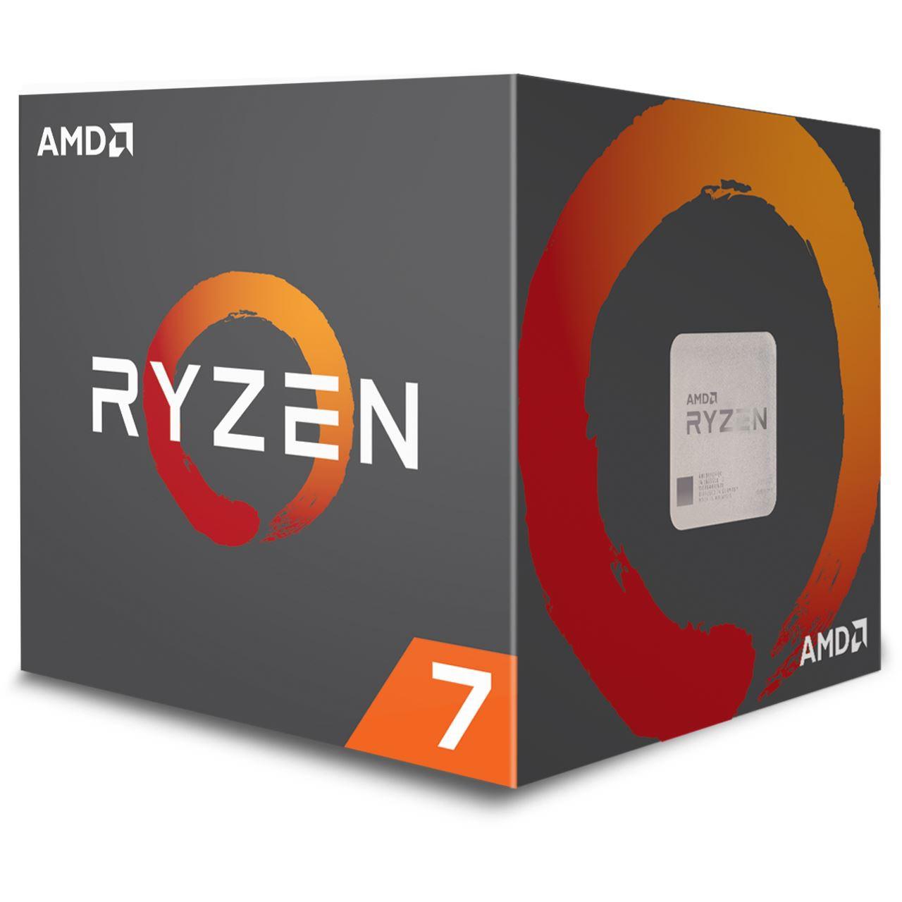 AMD Ryzen 7 2700 8x 3.20GHz So.AM4 BOX und The Division 2 Gratiszugabe