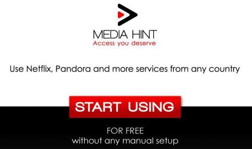 [Media Hint]Hulu, Netflix,Pandora & Co Kostenlos Nutzen für Firefox und Google Chrome