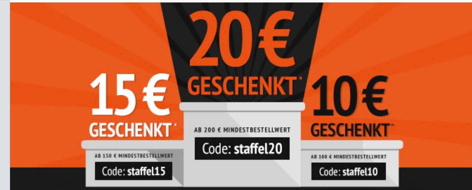 ATP Autoteile Gutschein 10€ /15€/20€ Staffel Rabatt