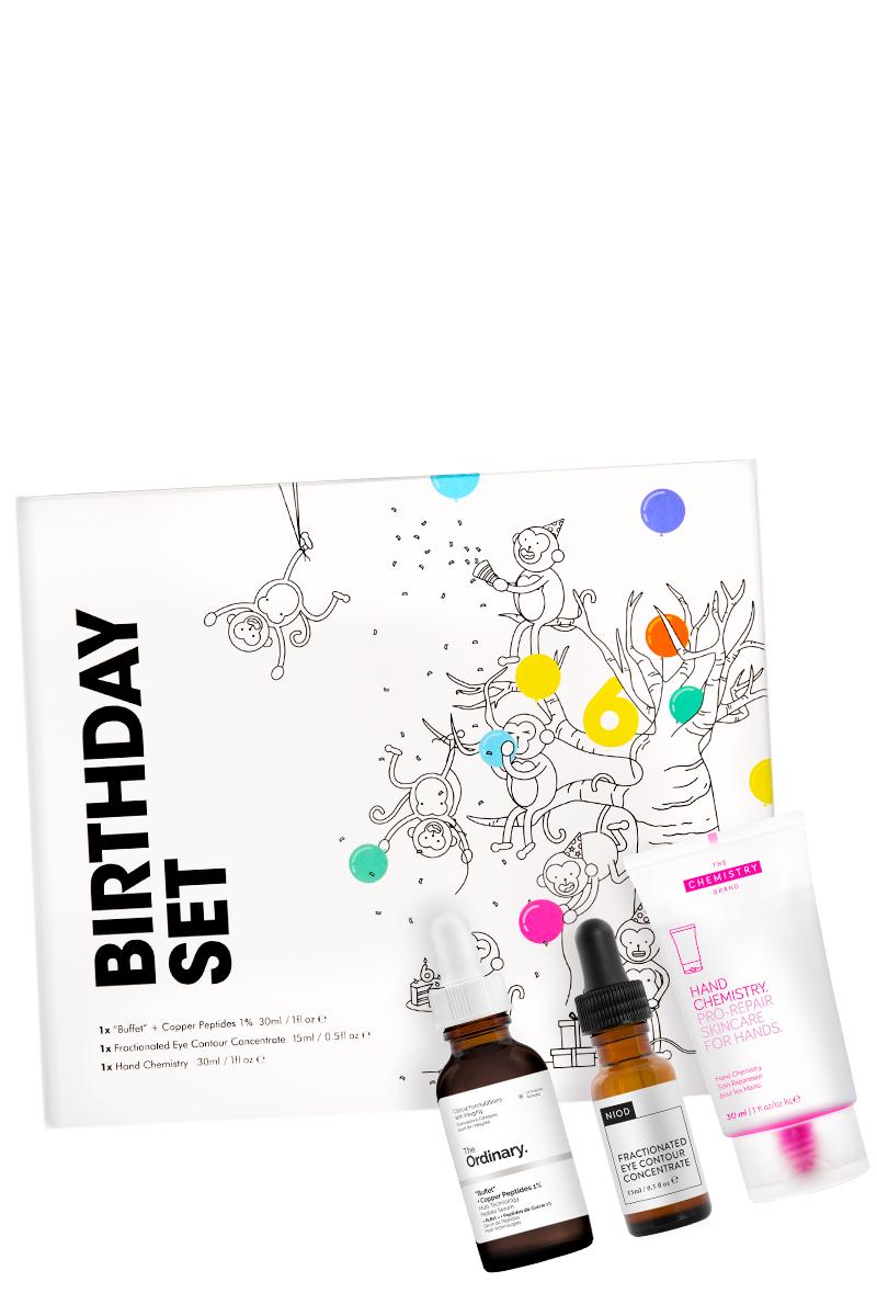"""DECIEM Birthday Set (The Ordinary """"Buffet"""" + Copper Peptides 1% und mehr)"""