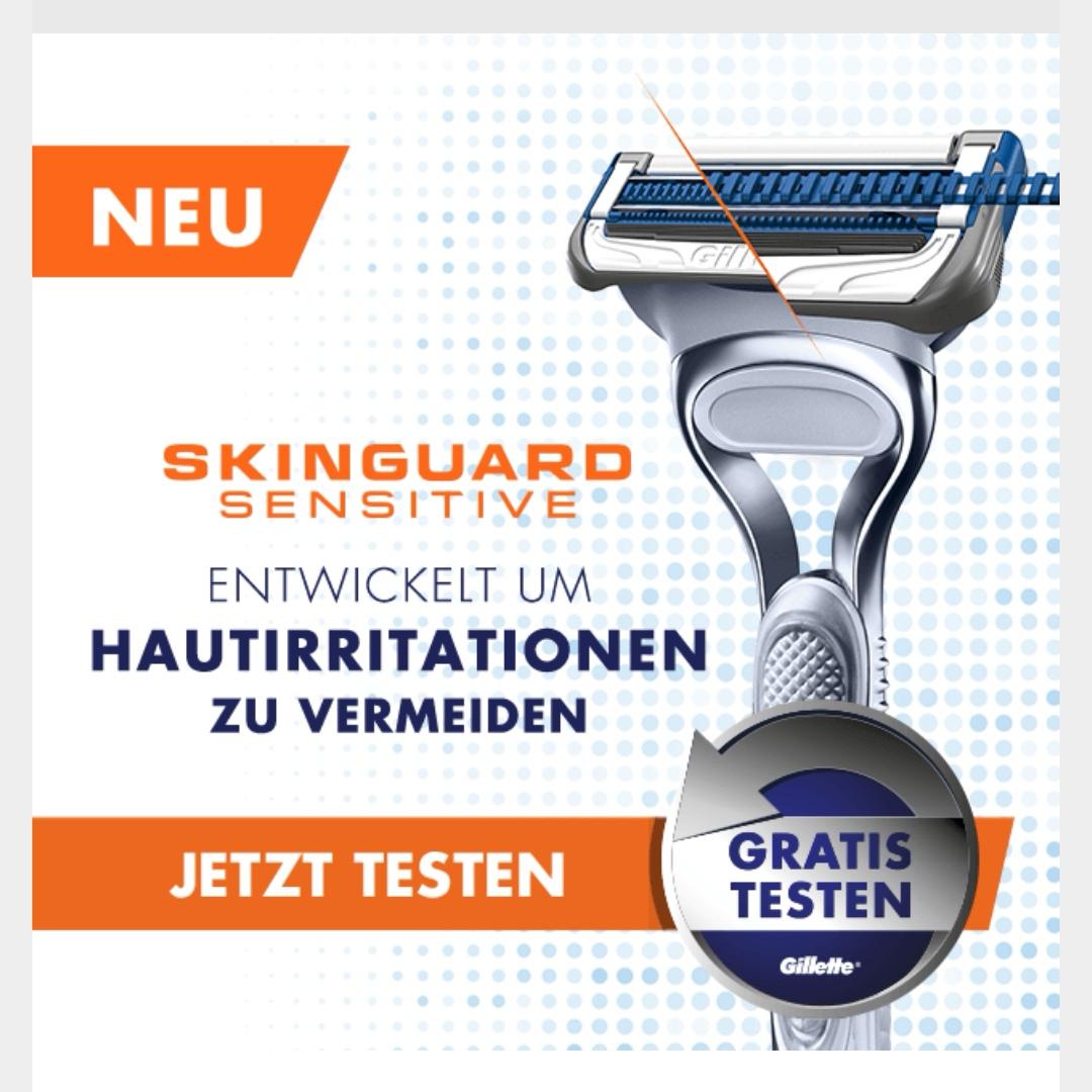 Gillette Skinguard sensitive Rasierer GZG