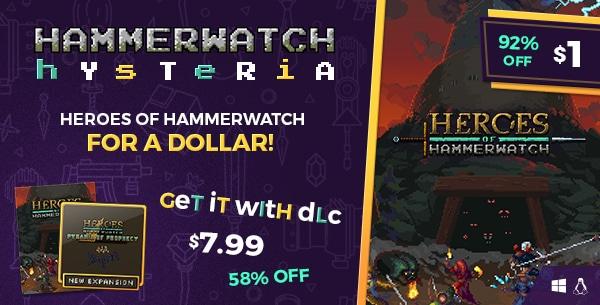 Heroes of Hammerwatch $1; mit erstem DLC für $6,99