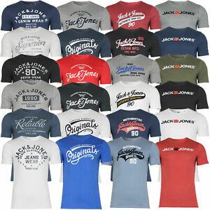 Jack & Jones Herren T-Shirt mit Rundhals Kurzarm Sport für jew. 8,95€ zzgl. Versand (1x 2,50€ - Versand)