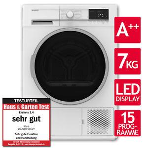 Ebay.de [Rotcom] - Wäschetrockner Trockner Wärmepumpentrockner A++ Sharp KD-GHB7S7GW2-DE 7kg LED