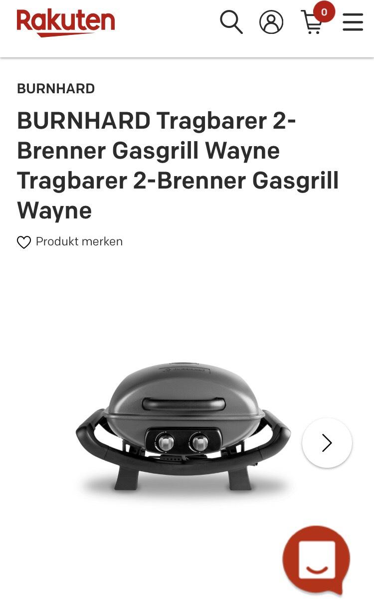 Burnhard WAYNE Gasgrill