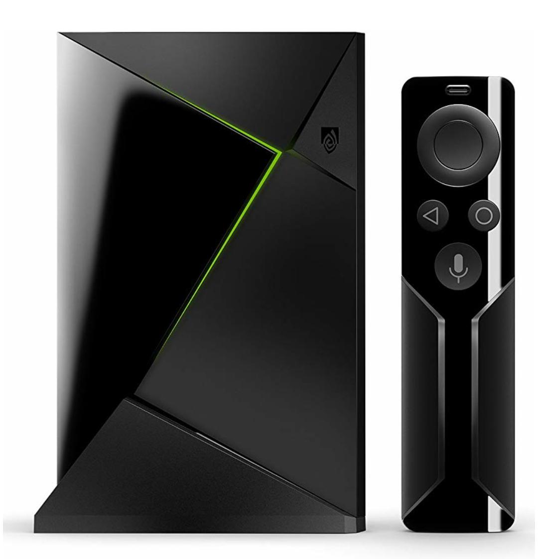 NVIDIA SHIELD TV 4K HDR Streaming-Box 16GB 3GB RAM inkl. Fernbedienung