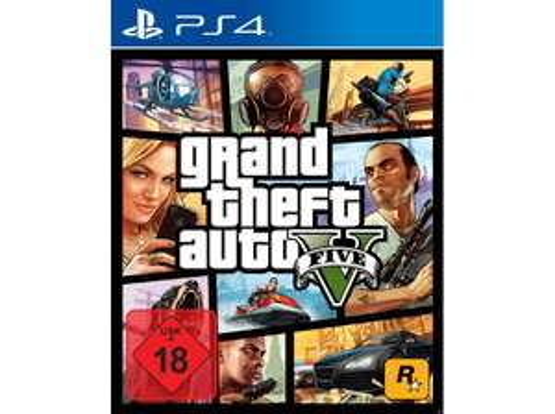 Grand Theft Auto 5 (GTA 5) PS4 für 10€ (14,99€ bei Versand) [Media Markt Abholung]