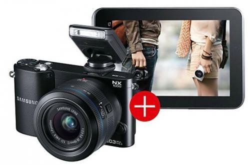 Samsung NX 1000 & Galaxy Tab 2 @ SATURN