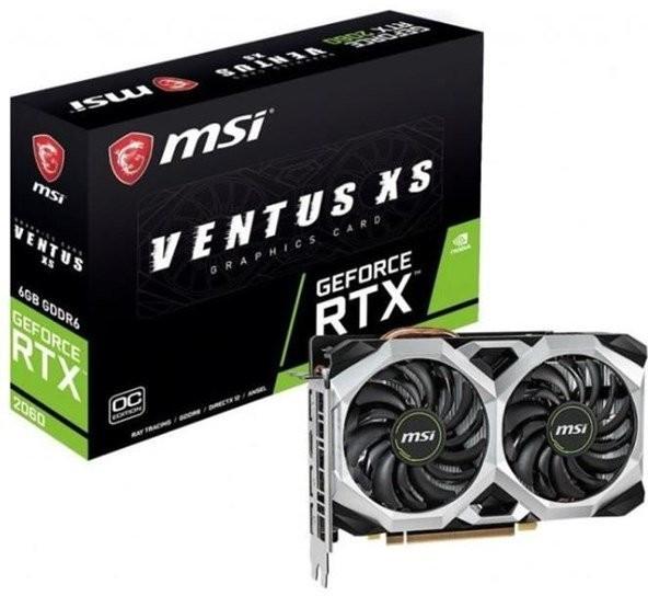 [Regional Dortmund Notebooksbilliger.de] MSI GeForce RTX 2060 Ventus XS 6G OC, Grafikkarte, 3x DisplayPort, Hdmi für 299,-€