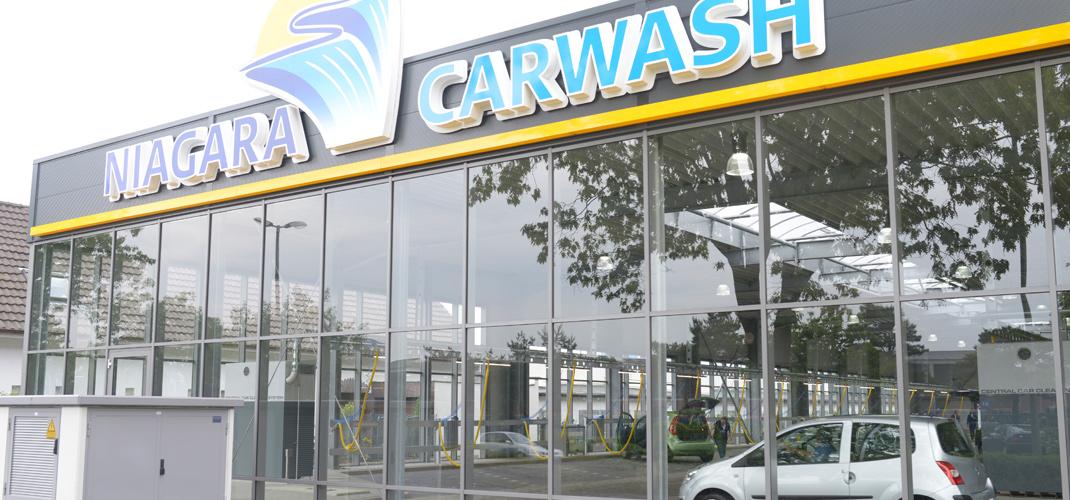 Neueröffnung von Niagara Car Wash (Lokal Aachen)