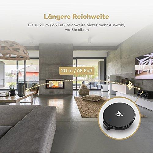 bluetooth sender taotronics tt ba10jpw aptx low latency. Black Bedroom Furniture Sets. Home Design Ideas