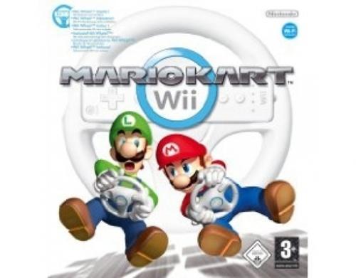 Nintendo™ - Mario Kart Wii + Wheel ab €31,99 [@MeinPaket.de]