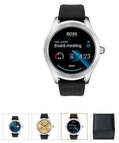 Boss Touch Smartwatch + Uhren-Service-Coupon (christ) Kostenlose Lieferung