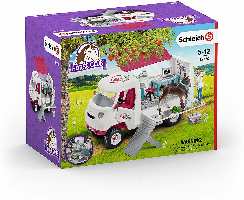 [Amazon Prime] Schleich Mobile Tierärztin mit Hannoveraner Fohlen (42370)