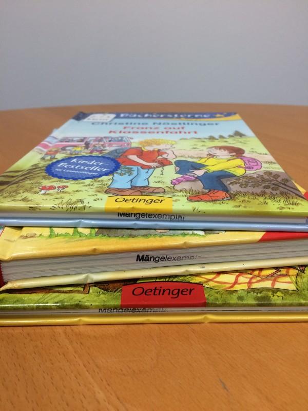 """Preiswerte Kinderbücher - """"Mängelexemplare"""""""