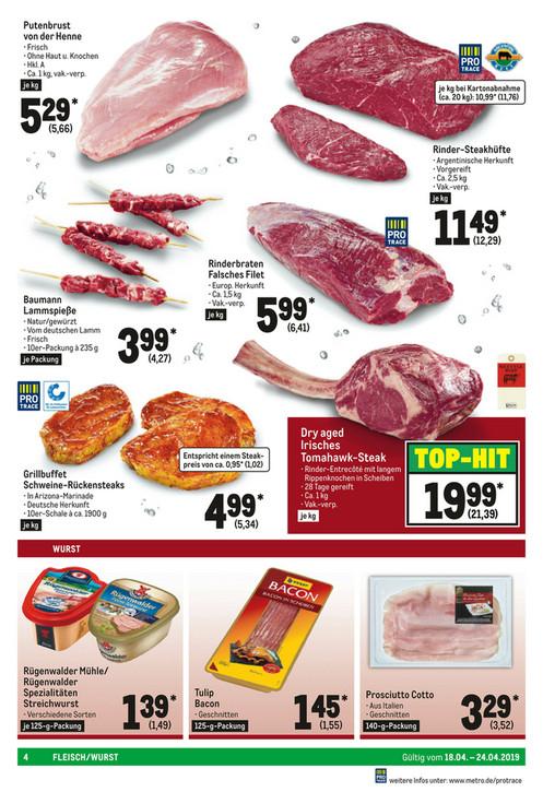 [METRO] Irisches Dry Aged Tomahawk Steak Kettyle