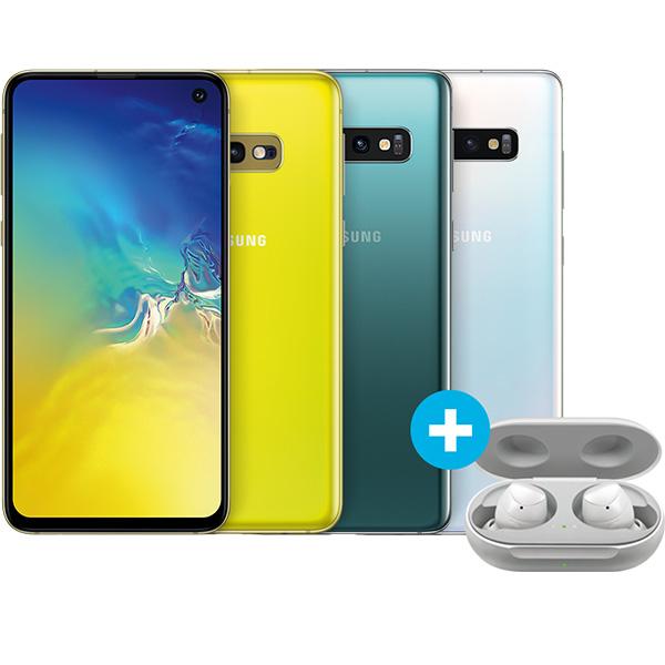 Samsung Galaxy S10e und Galaxy Buds im O2 Free M (10 GB LTE, Allnet/SMS) oder Young M Boost (20 GB LTE, Connect) für mtl. 29,99€